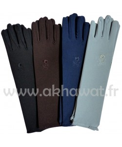 Gants 6 couleurs