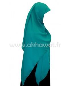 Hijab crêpe - carré 150 cm