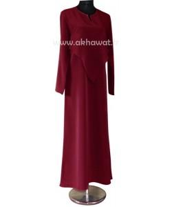 Abaya d'allaitement - double zip - El bassira