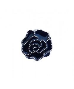 Aimant double face - Rose noire