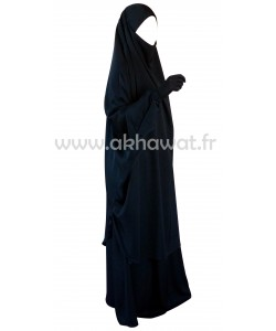 French Jilbab with flaired skirt - Topaze