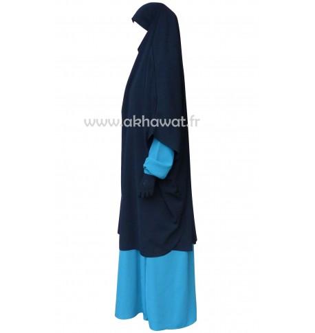 Demi-Jilbab sans manches - Microfibre léger El bassira