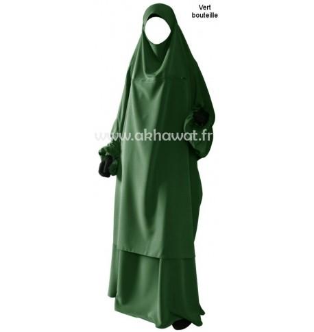 Jilbab 2 pièces allaitement - El bassira