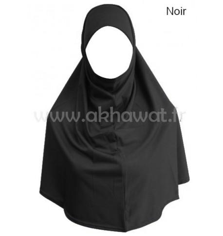 Hijab 2 pièces Lycra