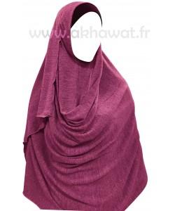 Hijab maille - Prêt à enfiler