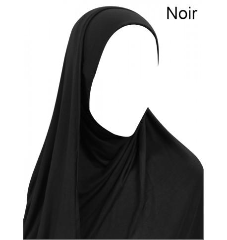 Hijab facile à enfiler - Viscose - spécial écouteurs/lunettes