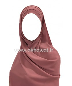 Ready to wear - pleated hijab - Crepe