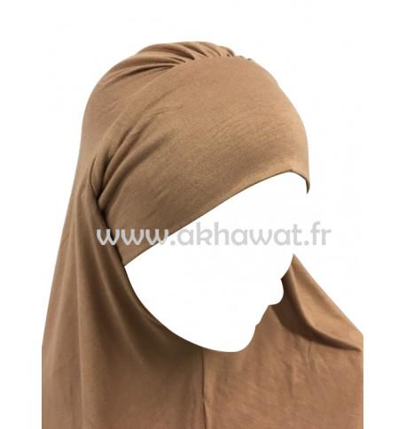 Hijab 1 pièce - Bandeau intégré - Viscose