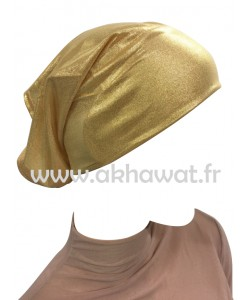 Under scarf tube cap - Golden or Silver