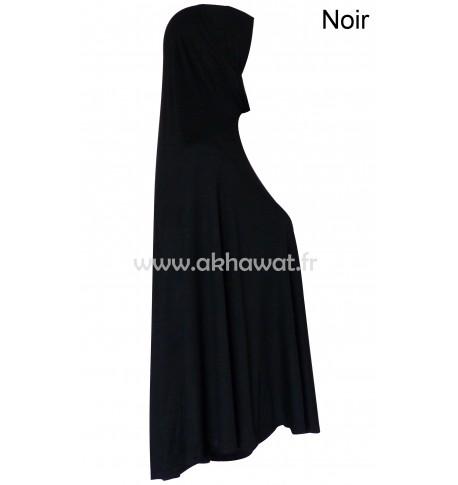 One piece long hijab