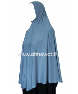 One piece long hijab