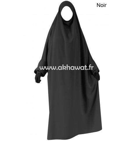 Full length French Jilbab - Light microfiber