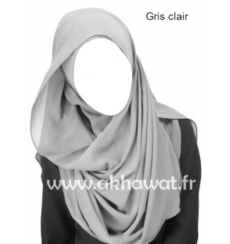chiffon shawl - Several colors