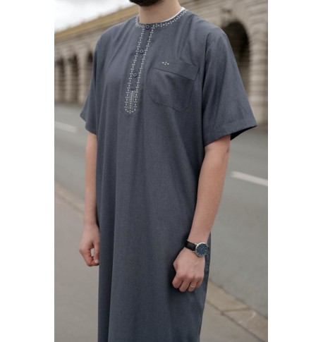 "Qamis ""cotton"" - Short sleeves"