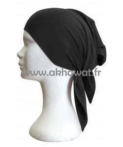 Large bonnet to tie - lycra