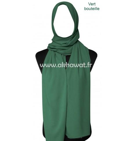 Opaque crepe Hijab - Rectangle