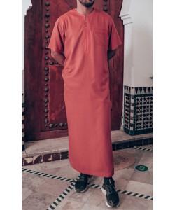 "Qamis ""cotton"" - Short sleeves"