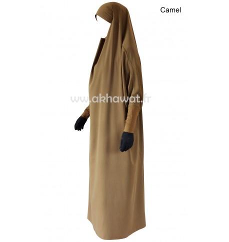 Tight sleeves - Full length jilbab - Light microfibre